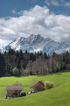 Dietschiberg (LU) with Mount Pilatus