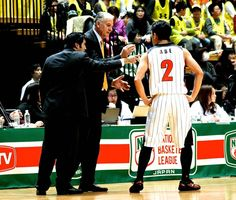 Hired help: Croatian Zeljko Pavlicevic of the Wakayama Trians is one of nine foreign coaches in the NBL.