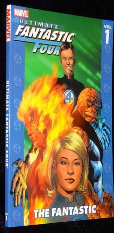Fantastic Four Ultimate Volume 1 Marvel Comics Graphic Novel Softcover New Book