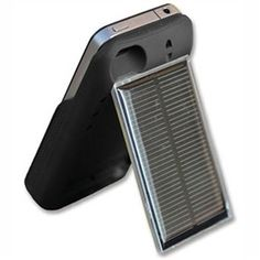 Brunton Freedom IP - iPhone 4/4s Charger  that has 100mA polycrystalline solar panel and 2200mAh battery storage capacity.