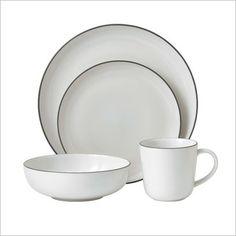 Bread Street 16 Piece Set Dinning in White by Gordon Ramsay