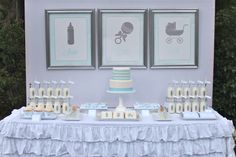 """shake, rattle and roll"" baby shower"