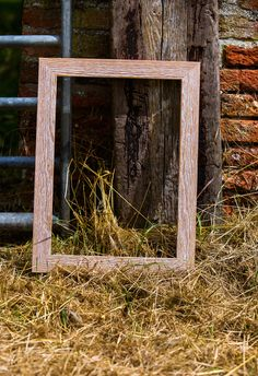 Textured wood picture frame moulding conjures up rustic country décor. Buxton range from http://mainlinemouldings.com/index.php?DepartmentID=18&ProductRange=Wood&CategoryID=798