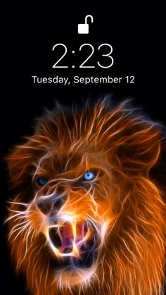 Beautiful lion wallpaper Live wallpaper for your iPhone XS from Everpix Live✌️ Lion Live Wallpaper, Lion Wallpaper Iphone, Iphone Homescreen Wallpaper, Funny Phone Wallpaper, Skull Wallpaper, Wallpaper Space, Wolf Wallpaper, Animal Wallpaper, Cool Live Wallpapers