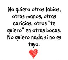 11 Best Frases Tiernas De Amor Images On Pinterest Spanish Quotes