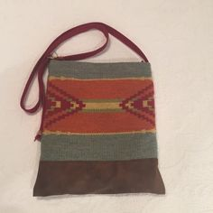 Aztec purse Cloth Aztec style cross body bag. Perfect condition inside and out. Bags