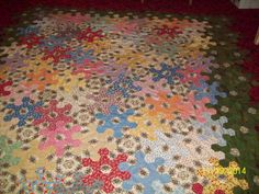 1930s Snowflake Quilt by: Shelia A. Taylor