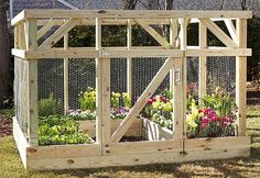 How To Build A Garden Enclosure How To Build A Garden Enclosure Have you been out to your garden and checked on your vegetables and plants, only to find something has ate them, or has dug