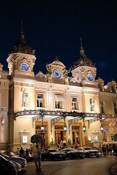 Casino de Monte Carlo, Monaco. I wish I had kept a token! Incredible place. And cars...