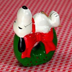 Trim up the tree with Santa Snoopy! Find Peanuts Christmas Ornaments in our shop at CollectPeanuts.com.
