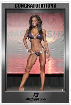 2014 IFBB Tampa Pro  Bombshell Bianca Berry IFBB PRO Bikini 2nd Place