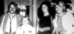ABBA North American & European Tour 1979 - Washington/Montreal. Frida, Björn and Benny pay a visit at the White House on October 5 and meet Amy Carter - the President's daughter.