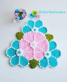 Güzel bir model tasarlamış sevgili @cilemin_lifleri ve adını çiçek çarkı koymuş. Cok beğenince biz de denemek istedik. Diger sayfamız…