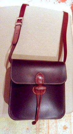 BOLSO de Cuero bandolera *laVeronica* color marrón dos tonos, entra en www.alcoso.es