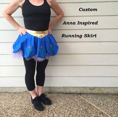 Custom Anna Inspired Running Skirt by runthekingdom on Etsy https://www.etsy.com/listing/237608393/custom-anna-inspired-running-skirt