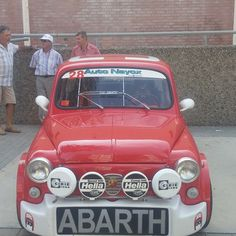 Red, white and Abarth!