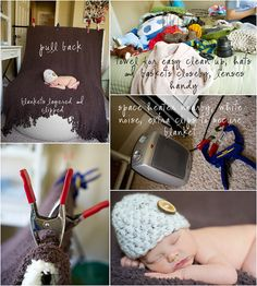 Pull back newborn photography Kelly Garvey...On-location tips plus link to her client prep info.