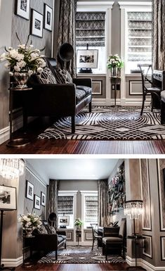 20's inspired office decor (The Great Gatsby Suite)