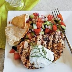 Greek-Style Pork Chops |