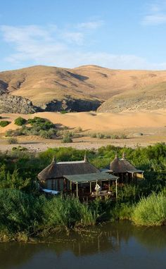 Serra Cafema Camp in Namibia Land Of The Brave, Africa Destinations, Namibia, African Safari, Travel Planner, Rest Of The World, Africa Travel, Lodges, South Africa