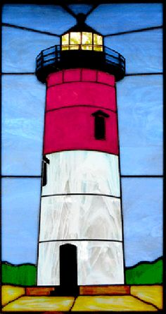 Cape Cod Hanging Stained Glass Panels for Sale | Semple Glass Studio
