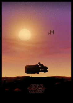 Star Wars: The Force Awakens - movie poster - George Townley