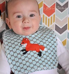Applique Designs, Embroidery Designs, Aqua Color Dress, Baby Deer, Baby Foxes, Baby Boy, Hand Embroidery, Machine Embroidery, Bonnet Pattern