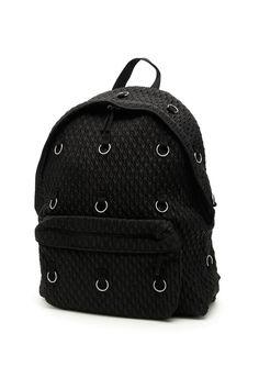Raf Simons Padded Loop Backpack In Black (black) Raf Simons, Baby & Toddler Clothing, Black Backpack, Fashion Backpack, Backpacks, Mens Fashion, Bags, Shopping, Shoes