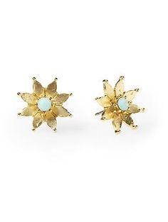 Tinley Road Flower Stud Earring - $18.00