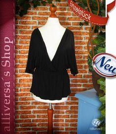 Details zu ICHI GRACIONS FLEDERMAUS Shirt TUNIKA Damen Oberteil S 36 38  Schwarz JERSEY K9 9f6c049fde