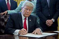 Trump to roll back Obama's climate, water rules through executive action  I hope the people who voted for this man be the only ones to suffer the effects of climate change and contaminated water.