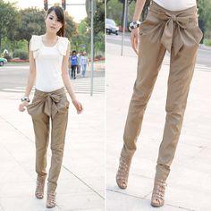Stylish Bow Pants | Icon Clothing
