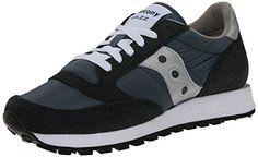 Saucony Jazz Original, Herren Sneakers, Blau (Navy/Silver), 44.5 EU (9.5 Herren UK) - http://on-line-kaufen.de/saucony/44-5-eu-saucony-saucony-jazz-original-men-herren-2