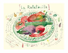 Ratatouille by Lucile Prache