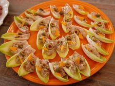 """Ham Salad in Endive Cups (The Eleventh Hour) - """"The Pioneer Woman"""", Ree Drummond on the Food Network."""