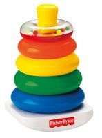 Fisher-Price Brilliant Basics Rock-a-Stack Stacking Toy