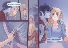 Fiolee short comic-Reflection P.4(End) by fangcovenly.deviantart.com on @DeviantArt