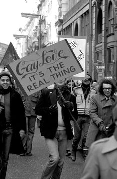 15 Inspiring Photos From The '70s Gay Rights Protests