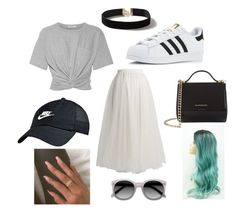 """""""Every days love<3"""" by julie-heesen on Polyvore featuring mode, Rochas, T By Alexander Wang, adidas, Givenchy, NIKE, Dorothy Perkins en Ace"""