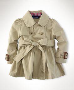 baby trench coat