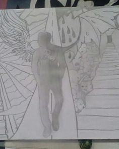 #hobby #drawing #darkness #road #choice #befree #behappy