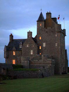 Ackergill Tower, Highland, Scotland
