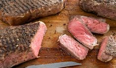 Grilled Strip Loin Steaks with Homemade Steak Spice