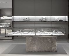 Marble counter #jewelry shop