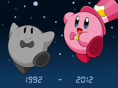 Happy 20th Anniversery Kirby! by Kusamochi on deviantART