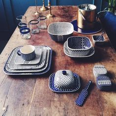 Bunzlauer Keramik- neueste Kollektion Modern Design . Latest Collection of Polish Pottery allready in my shop ;) www.homemode.de