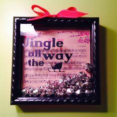 Simple Fun Crafter: Jingle Bell Shadow Box