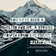 God is our shelter and strong tower in this world. Let's always take refuge in Him. Read: Joshua 10:1-5 . . . #sheabq #livefearlessly #joshua #strongtower #shelter #faith #hope #fearless #becourageous #bestrong #homework #sheministries