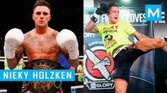 Nieky Holzken Strength and Conditioning Training for Kickboxing | Muscle...