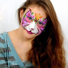 Face Art, Art Girl, Carnival, Faces, Sparkle, Gallery, Painting, Kid, No Face